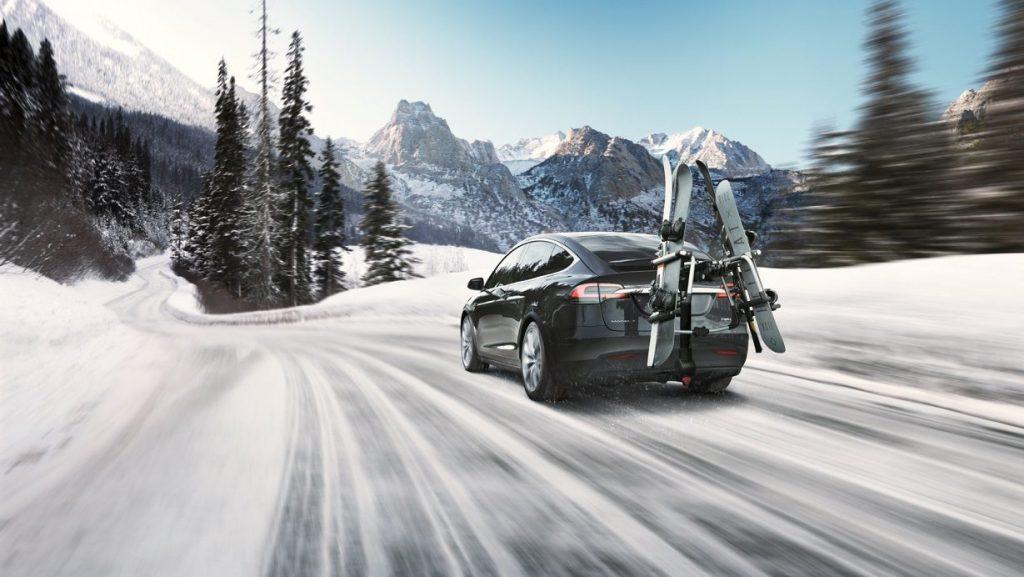 Tesla Model X Skiträger