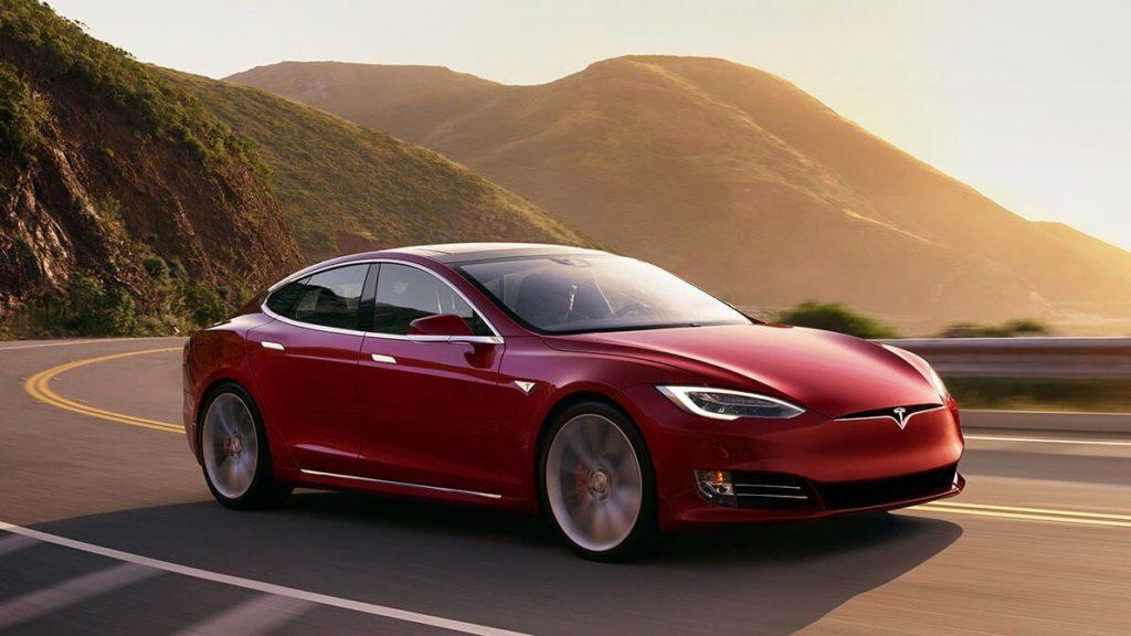 Tesla Sonnenblende Model S
