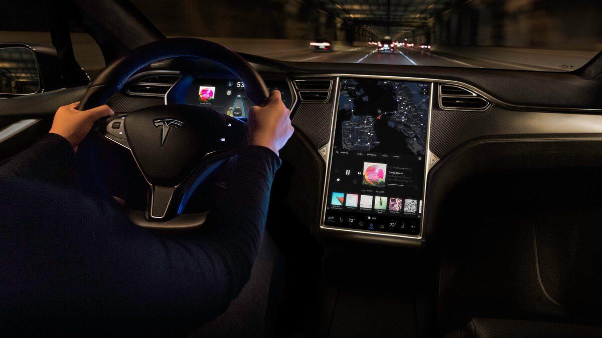 Tesla Interieur reset