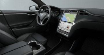 Tesla Model S Interieur Firmware