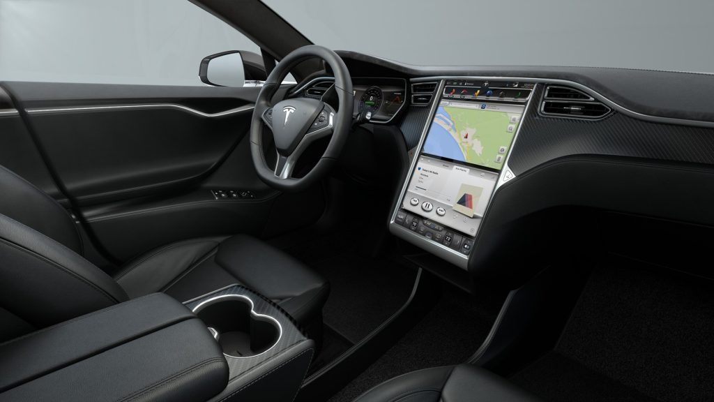 Tesla Model S Interieur Firmware