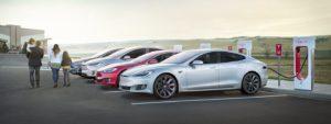 Tesla Batterie Reichweite Statistik Tabelle