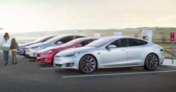 Langstrecke Tesla Supercharger Batterie Reichweite Statistik