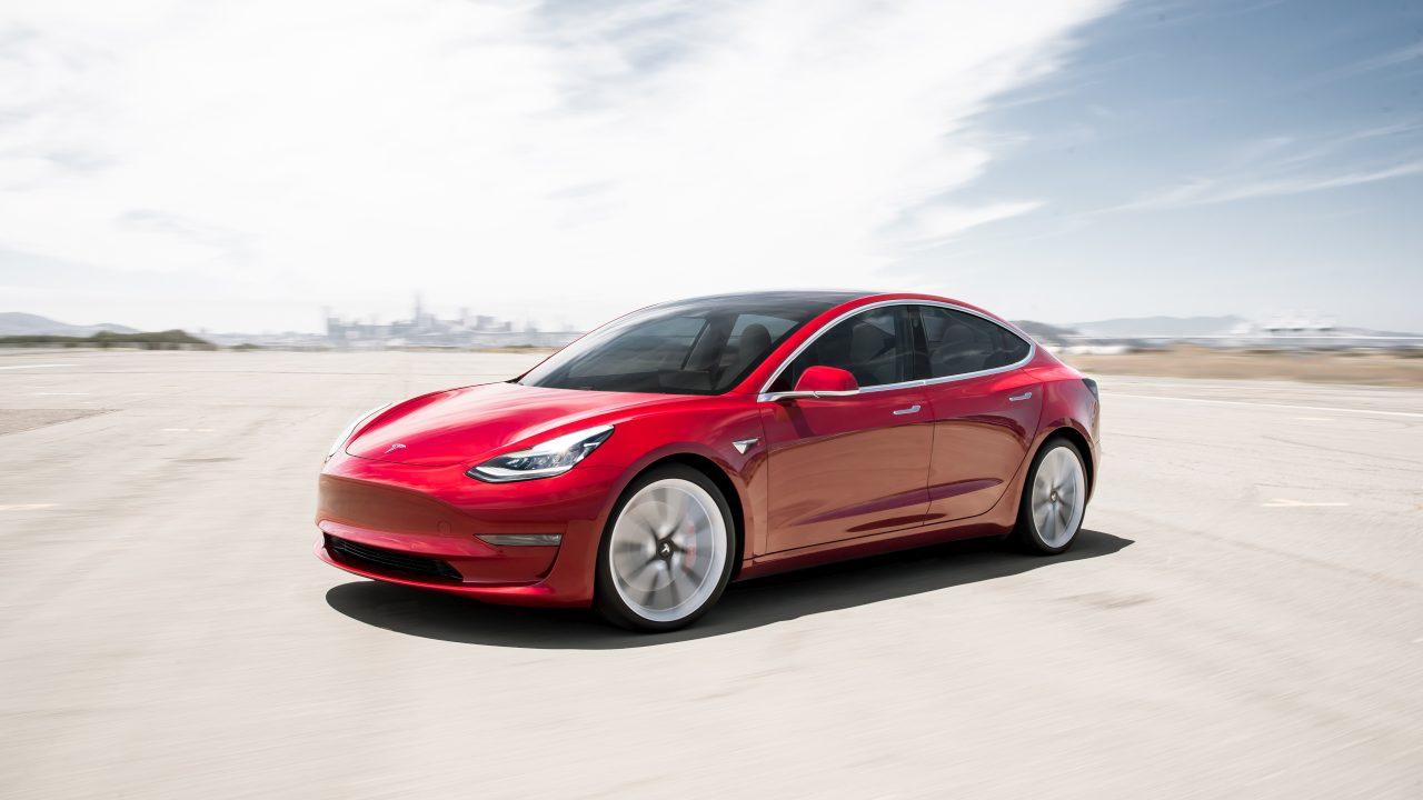 Tesla Model 3 Bedienung
