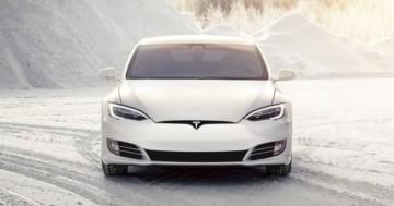 Tesla Lüftung Winterreifen