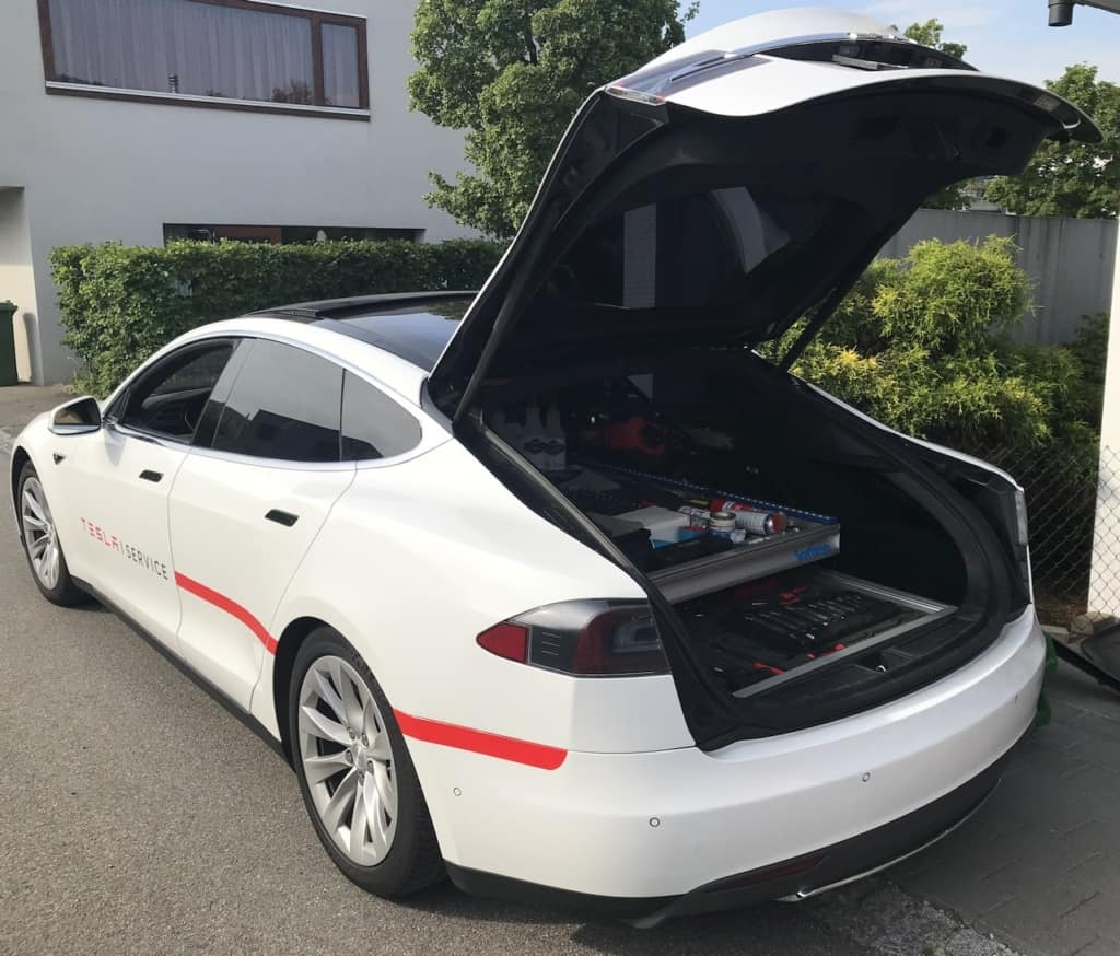 Tesla Ranger Mobiler Service