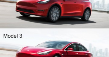 Unterschiede Tesla Model Y Model 3