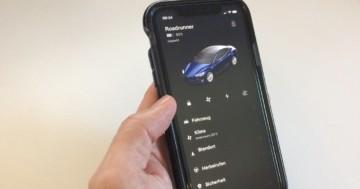 Tesla Apps für Android und iOS
