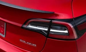 Tesla Model 3 Performance Badge