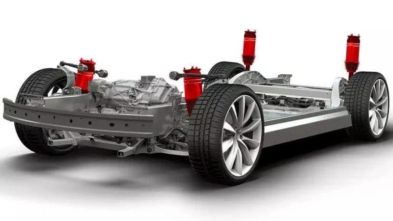 Tesla Luftfederung: alle Vor- und Nachteile