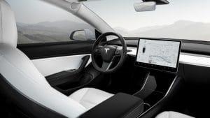 Tesla Model 3 Ausstattung Übersicht