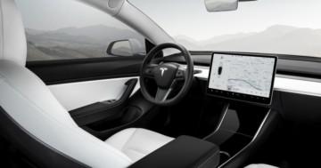 Tesla Model 3 Ausstattung