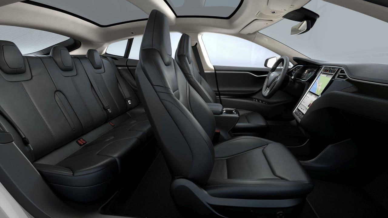Tesla Model S Fahrzeugausstattung Übersicht