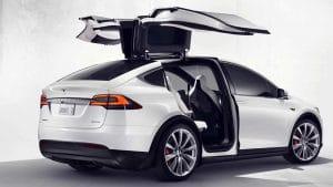 Tesla Model X Ausstattung Übersicht