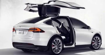 Tesla Model X Ausstattung