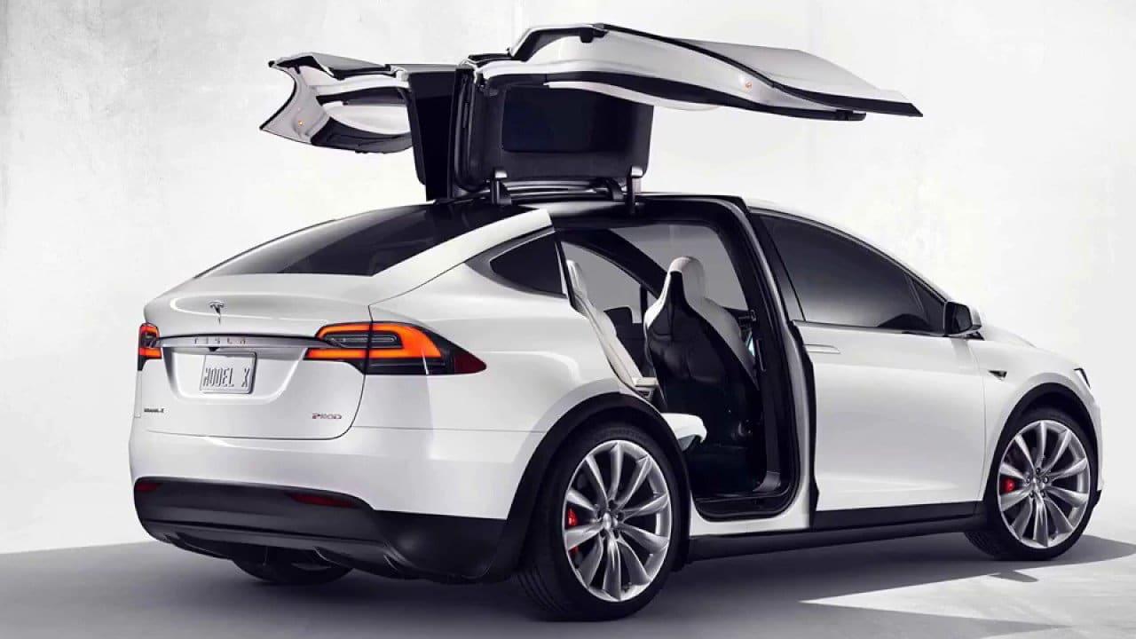 Tesla Model X Fahrzeugausstattung Übersicht