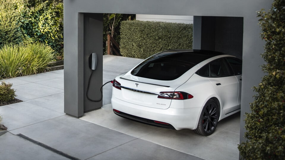 Tesla mobile Wallbox