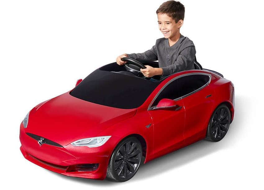 Tesla Radioflyer Car