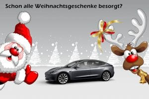 Geschenke für Tesla Fans. Nicht nur zu Weihnachten.