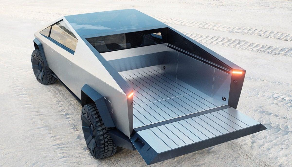 Tesla Cybertruck Ladefläche