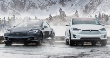Tesla Model S and X Winter Verbrauch