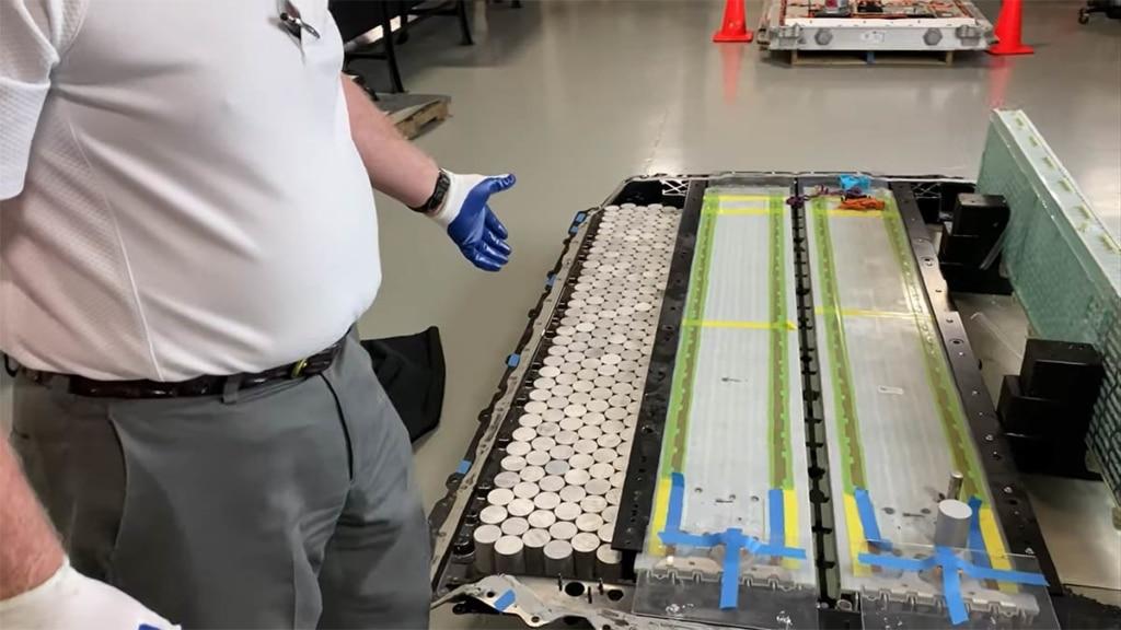 Tesla 4680 Batteriezellen