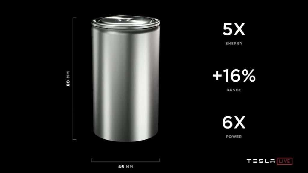 Tesla 4680 Batteriezelle