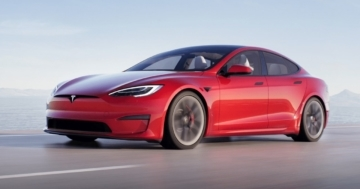 Tesla Model S Plaid Refresh 2021 Plaid Rot