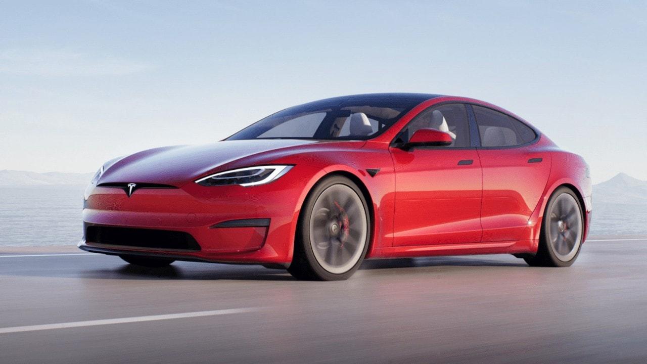 Tesla Model S Plaid Refresh 2021 Plaid Rot