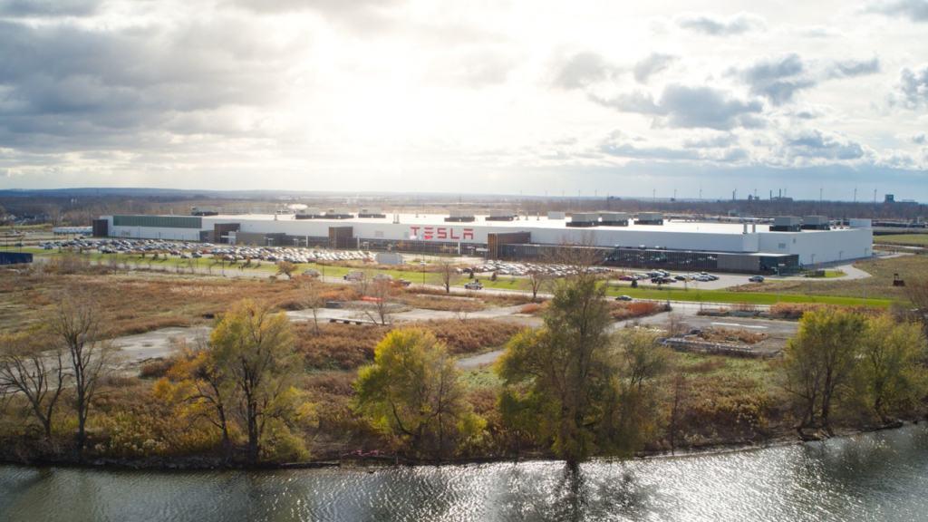 Tesla Gigafactory in Buffalo New York