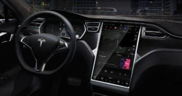 Tesla Model S Interieur MCU Upgrade