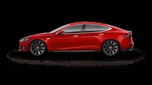 Tesla Model S PPMR Red Multi-Coat