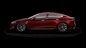 Tesla Model S PPSR Signature Red