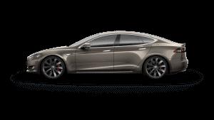 Tesla Model S PPTI Titanium Metallic