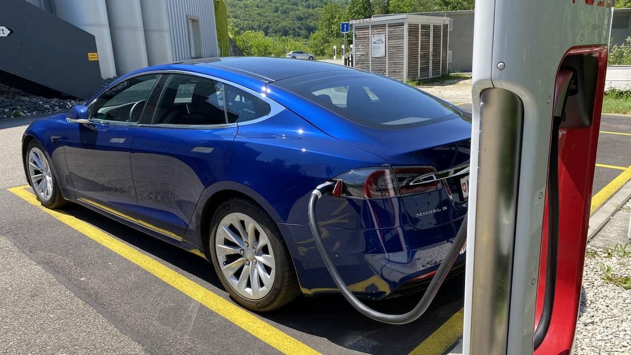 Ladeleistung Tesla