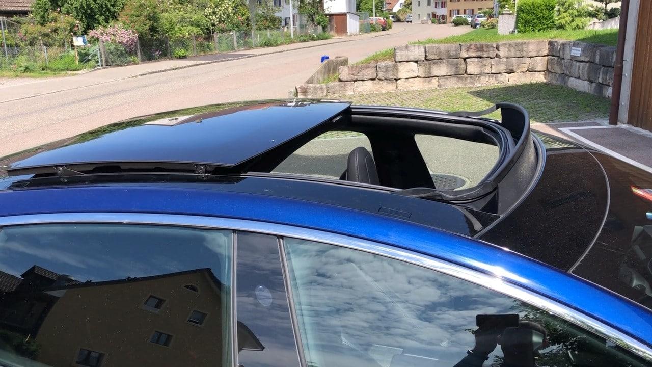 Alle Informationen zum Tesla Panorama Schiebedach