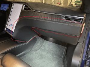 Innenraum Filter Austausch Tesla Model S