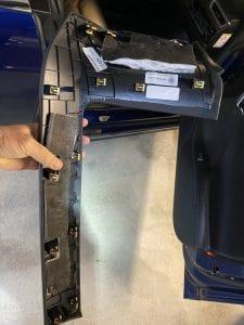 Blende über dem MS Handschuhfach
