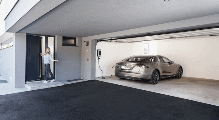 Keba Tesla Ladestation Wallbox