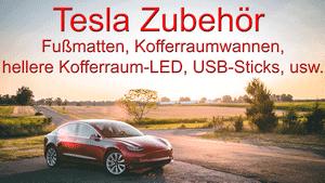 Tesla Zubehör