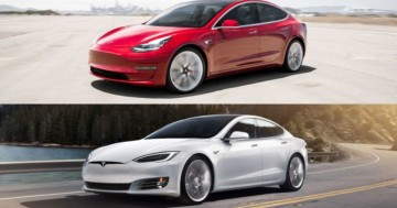 Tesla Model 3 vs. Tesla Model S