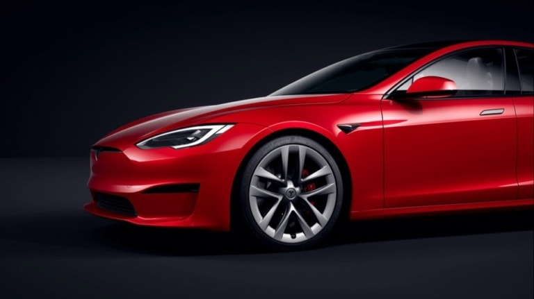 Tesla Model S 2021 Refresh Exterior