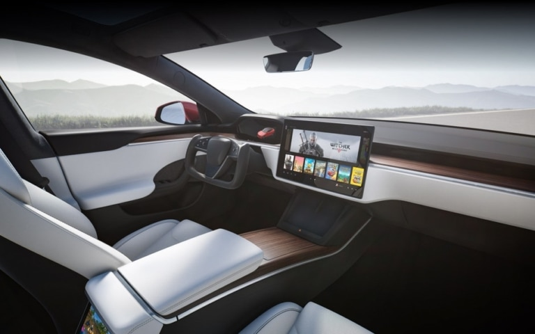 Tesla Model S Maximale Reichweite 2021 Refresh Interieur