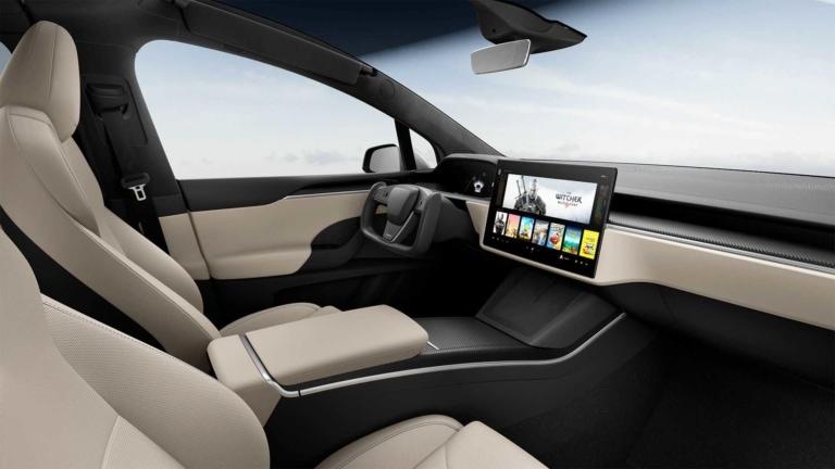 Tesla Model S Plaid Interieur