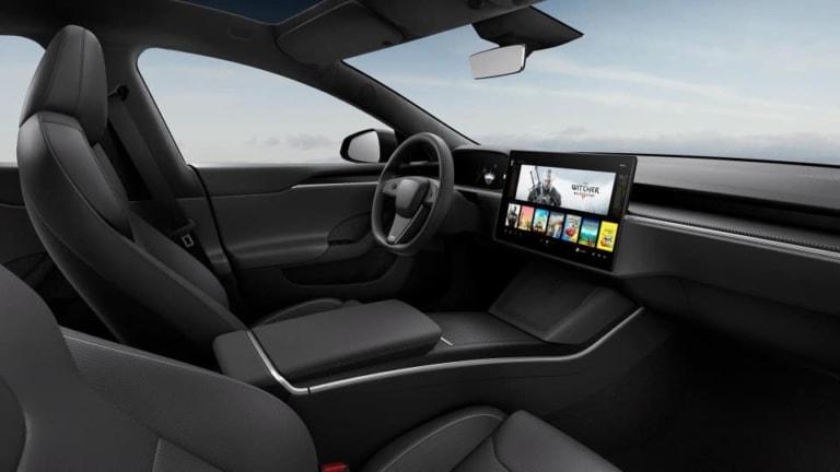 Tesla Model S Refresh Standard Lenkrad