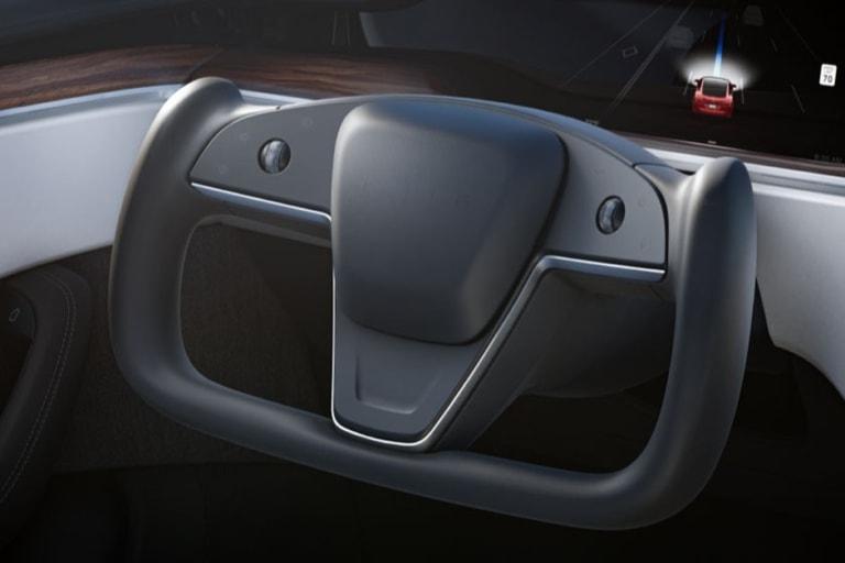 Tesla Model S 2021 Refresh Plaid Lenkrad