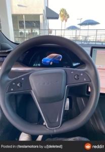 Model S Refresh 2021 Innenraum Foto