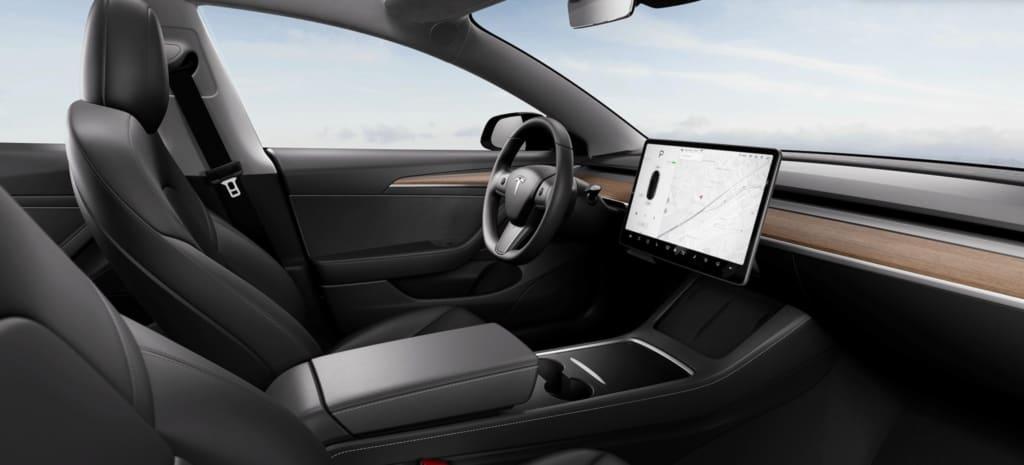 Tesla Model 3 Refresh neues Interieur Türverkleidung
