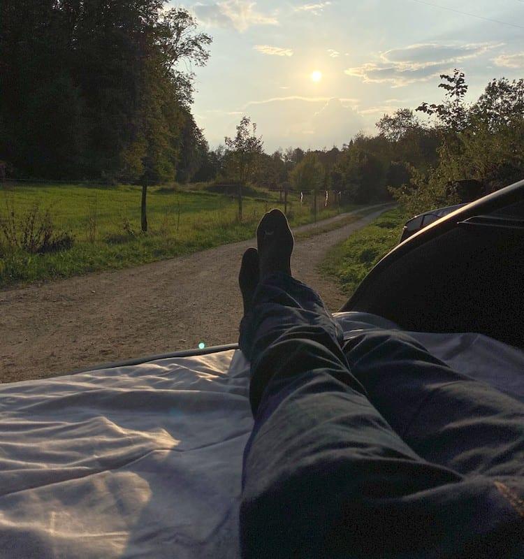 Tesla Camping Dreamcase Matratze Test und Review