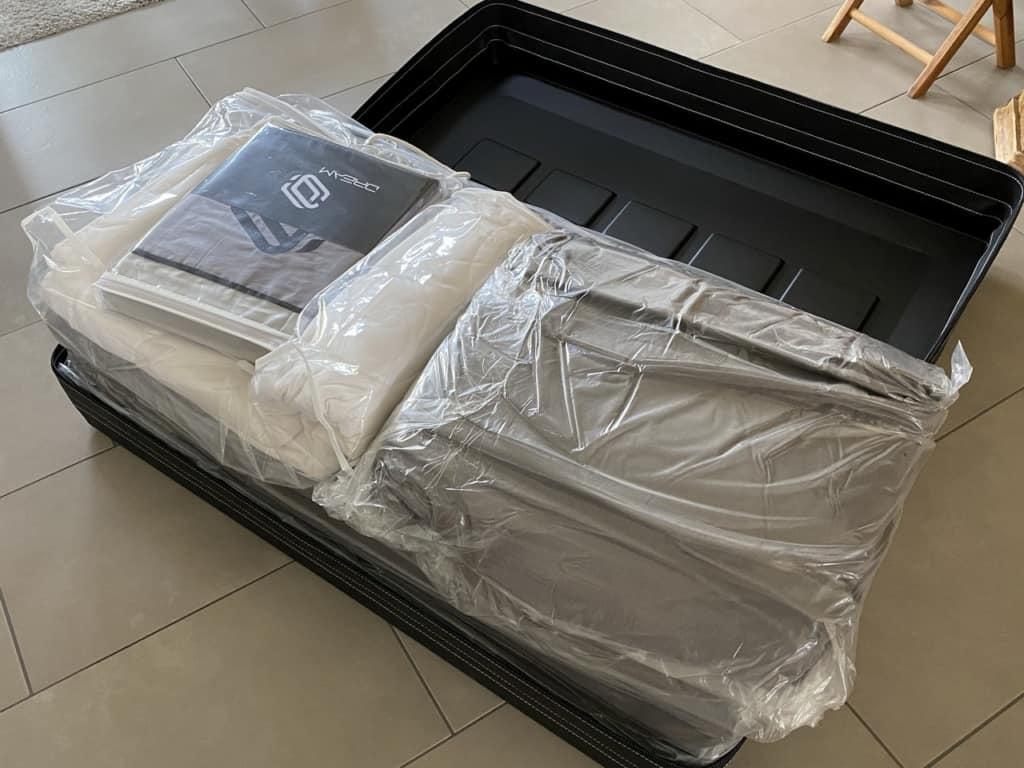 Originalverpacktes Bettzeug